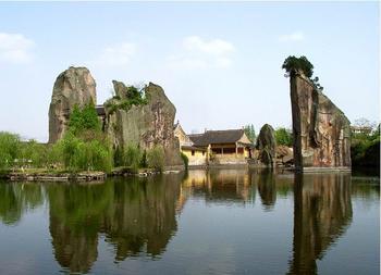绍兴羊山石佛风景区