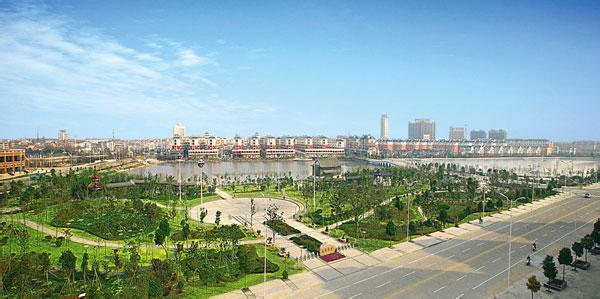 滨海南湖广场
